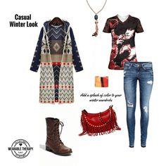 Boho chic casual street wear