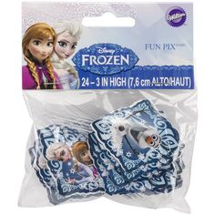 Wilton 2113-4500 Disney Frozen Fun Pix Cupcake Decor ** Quickly view this special  product, click the image : Decorating Tools