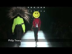 Film recap of the Philip Treacy Michael Jackson show