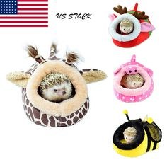 ANIMAL Bed Pet Hammock Hamster Rat Guinea Pig House Nest Pad For Cage Soft Top - $7.59. 142570883883