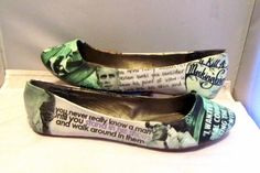 To Kill A Mockingbird by Harper Lee Flats - Made to Order on Etsy, $56.73 AUD