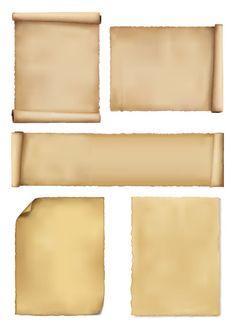 巻き物、古紙 ベクターイラスト素材 Antique Frames, Graphic Design Tips, Card Tags, Game Design, Stationary, Islam, Antiques, Illustration, Painting