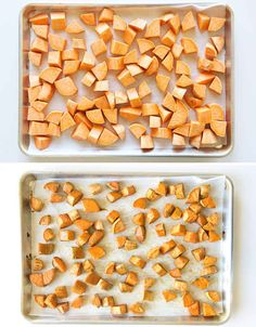 Slow-roast your sweet potatoes so that they're maximally sweet without any added sugar.