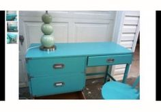 Turquoise Campaign Desk