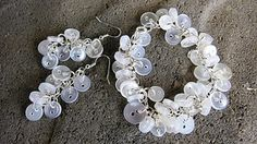 Button Jewellery tutorial