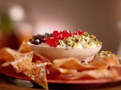 Deconstructed Cannoli Chips and Dip Recipe : Jeff Mauro : Food Network - FoodNetwork.com