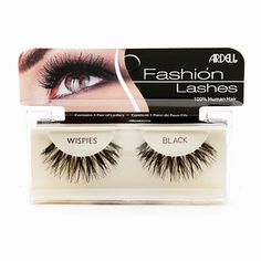 Buy Ardell Fashion Lashes, Wispies Black with free shipping on orders over $35, low prices & product reviews | drugstore.com