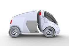 The Citi.Transmitter is a versatile urban-transportation concept that expands on the shared-vehicle solution by offering a mix of eco-friendly modular units for a variety of needs. Using an innovative smart-hitch system, users can easily attach modules to the primary 2-wheeled car to carry more passengers or cargo. About a 4th of the size of standard cars, the ultra-compact vehicle makes getting around heavily congested cities a cinch! *** SPECIAL USE VEHICLE ***: