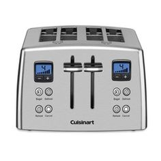 CPT-435 - 4-Slice Countdown Metal Toaster - Toasters - Products - Cuisinart.com