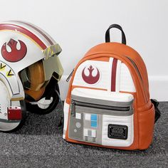Loungefly x Star Wars Luke Skywalker X-Wing Pilot mini backpack ⭐️The Kessel Runway ⭐️ Star Wars fashion ⭐️ Geek Fashion ⭐️ Star Wars Style ⭐️ Geek Chic ⭐️