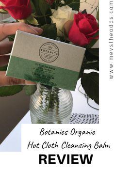 Botanics Organic Hot Cloth Cleansing Balm – Review Cruelty Free Makeup, The Balm, Blogging, Group, Lifestyle, Board, Hot, Christmas, Navidad