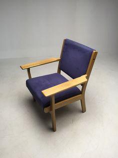 Hans J Wegner voor Getama - Vintage fauteuil