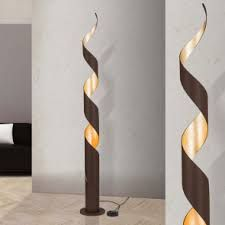 Image result for Laisa Floor Lamp, satin chrome finish with white shade