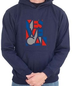 Yes We Can - Obama Slogan Hoodie