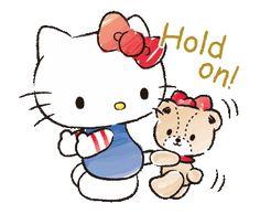 Hello Kitty and Tiny Chum Hello Kitty Gifts, Hello Kitty Cartoon, Hello Kitty Art, Hello Kitty My Melody, Hello Kitty Pictures, Sanrio Hello Kitty, Kitty Cam, My Melody Wallpaper, Sanrio Wallpaper