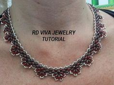 Tutorial San Diego Necklace by RDVIVAJEWELRY on Etsy, $8.00