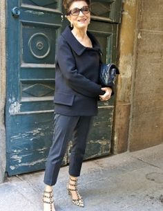 Constanza Pascolato, 72 year-old with an incredible fashion resumé