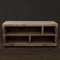 Reclaimed Wood Alamo Bookshelf