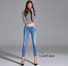 Our favorite skinny jeans now comes ripped & destroyed. The cropped, frayed hems mean a one-of-a-kind look that works with heels or flats. #mavi http://us.mavi.com/women-fit-alexa-ankle/