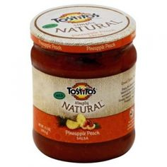 Tostitos Simply Natural Pineapple Peach Salsa - Mills Fleet Farm
