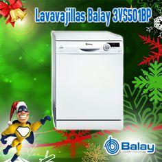 Lavavajillas Balay 3VS501BP Blanco A+