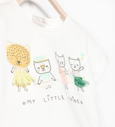 Image 3 of TIGER FAMILY T-SHIRT from Zara