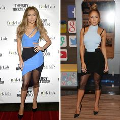Jennifer Lopez Wears Two Super Sexy Cutout Dresses in One Day #InStyle