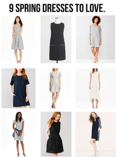 jillgg's good life (for less) | a style blog: 9 spring dresses to love!