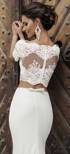 Featured Wedding Dress  Milla Nova  www.millanova.com  Wedding dress idea b3be5842817