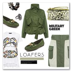 """""""Fall footwear trend """"loafers"""""""" by faten-m-h ❤ liked on Polyvore featuring Marissa Webb, Markus Lupfer, Anne Klein, Kenneth Cole, NOVICA and loafors"""