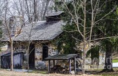 GRIST MILL CABIN PRINTS AND FRAMED ART FOR SALE JUDY WOLINSKY