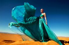 Olga Serova by Luis Monteiro for Tatler (March 2011) Editorial: Desert Storm…