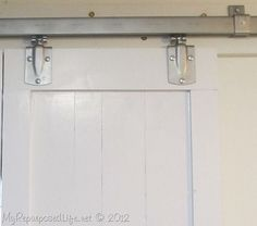 tractor supply hardware: How To Install a Faux Barn Door