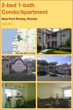 2-bed 1-bath Condo/Apartment in New Port Richey, Florida ►$44,900 #PropertyForSale #RealEstate #Florida http://florida-magic.com/properties/3383-condo-apartment-for-sale-in-new-port-richey-florida-with-2-bedroom-1-bathroom