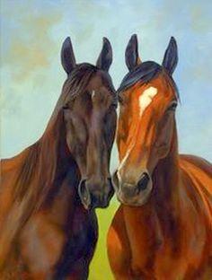 pinturas-hiperrealistas-cabezas-de-caballos