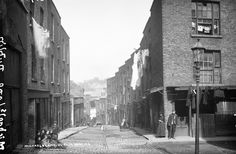 Michael's Lane, Dublin City Old Pictures, Old Photos, Vintage Photos, Ireland Pictures, Dublin Street, Dublin City, Photo Engraving, Ireland Homes, Dublin Ireland