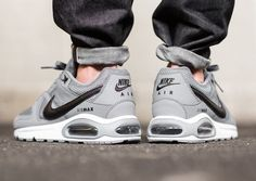 Trendy Ideas For Womens Sneakers : Nike Air Max Command: Cool Grey Air Max Sneakers, Nike Air Shoes, Nike Free Shoes, Nike Shoes Outlet, Sneakers Nike, Nike Socks, Sneakers Women, Men's Sneakers, Zapatillas Nike Cortez