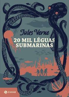 20 Mil Léguas Submarinas: Edição Bolso De Luxo - Clássicos Zahar