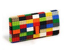Multicolor clutch made with LEGO® bricks
