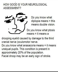 i am a new rn on a neuro unit and i would like tips from anyone on a quick and efficient way to do neuro assessments more info on neuro checks