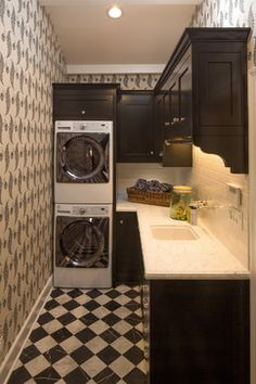 Makeover Monday: Placing Laundry In A Bathroom Or Kitchen