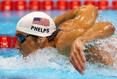 2012 London Olympics Michael Phelps