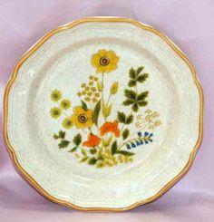 """Vintage Mikasa: Garden Club """"Fresh Floral"""" stoneware (1976-82)"""