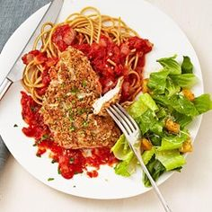Quick Chicken Parmesan - EatingWell.com