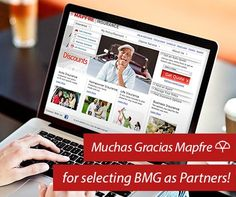 Muchas Gracias Mapfre for selecting BMG as Partners!
