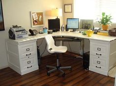 Craft room build do it yourself home projects from ana white diy pottery barn diy version desk minimalist decorating idea desk ideashome office solutioingenieria Images