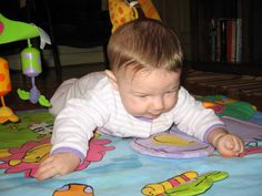 Did you know motor skills and vision develop together in infancy? Their ability to work together is important for later ability to read and write.