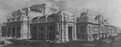 La Stazione Centrale. Il sogno egizio-babilonese di Ulisse Stacchini - LaBissa.com