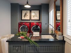 Planning is key to creating an efficient and inviting space for doing laundry.