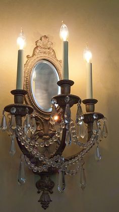 Oregon artisan Fred Baker designed this wall sconce as well as lighting fixtures at Lewis and Clark College and Timberline Lodge by mharrsch, via Flickr